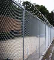 Chain Link - Razor Wire